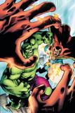Marvel Adventures Hulk No5 Cover: Hulk and Dr Strange
