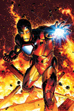 Invincible Iron Man No2 Cover: Iron Man