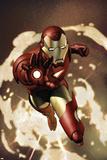 Iron Man No4 Cover: Iron Man