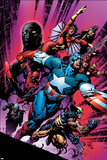 New Avengers No12 Cover: Captain America