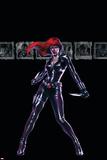 Secret War No4 Cover: Black Widow