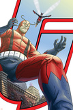 Avengers: Earths Mightiest Heroes No5 Cover: Giant Man and Wasp
