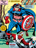 Captain America Bicentennial Battles: Captain America and Red Skull