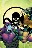New Thunderbolts No4 Cover: Wolverine and Swordsman