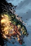 Incredible Hulk No71 Cover: Hulk and Iron Man
