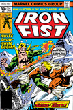 Iron Fist No14 Cover: Iron Fist and Sabretooth