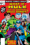 What If No2 Cover: Hulk  Thunderbolt Ross  Banner and Bruce