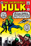 Incredible Hulk No3 Cover: Hulk  Jones and Rick
