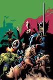 Marvel Adventures Avengers No10 Cover: Captain America