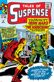 Tales Of Suspense No51 Cover: Scarecrow and Iron Man