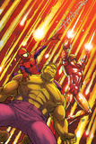 Marvel Adventures Super Heroes No2 Cover: Hulk  Spider-Man and Iron Man