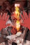 Daredevil: Redemption No6 Cover: Daredevil