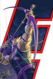 Avengers: Earths Mightiest Heroes No6 Cover: Hawkeye