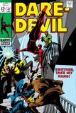 Daredevil No47 Cover: Daredevil Swinging