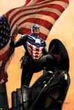 Captain America No34 Cover: Captain America