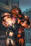 New Excalibur No5 Cover: Juggernaut and Dazzler