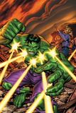 Marvel Adventures Hulk No16 Cover: Hulk