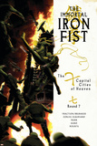 The Immortal Iron Fist No14 Cover: Iron Fist