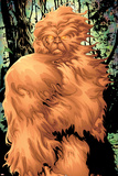 Alpha Flight No7 Cover: Sasquatch Fighting