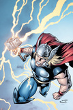 Marvel Adventures Super Heroes No7 Cover: Thor