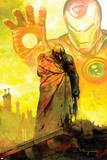 Moon Knight No18 Cover: Moon Knight and Iron Man