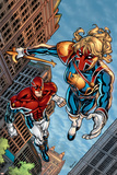 New Excalibur No4 Cover: Lionheart and Captain Britain