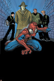 Marvel Age Spider-Man No9 Cover: Spider-Man  Big Man  The Ox and Enforcers
