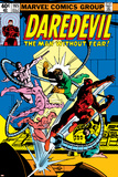 Daredevil No165 Cover: Daredevil and Doctor Octopus Crouching