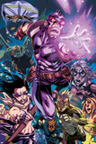 Dark Reign: Young Avengers No4 Group: Hawkeye  Hulkling and Speed
