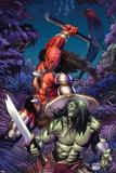 Skaar: Son Of Hulk No6 Cover: Skaar