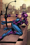 Marvel Adventures Super Heroes No14 Cover: Hawkeye