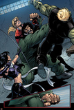 Young Avengers No8 Group: Mr Hyde  Bishop  Kate  Hulkling and Young Avengers