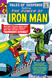 Tales Of Suspense No54 Cover: Iron Man and Mandarin