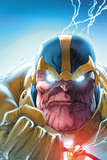 Lockjaw and The Pet Avengers No4 Headshot: Thanos
