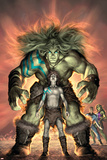 Planet Skaar Prologue No1 Cover: Skaar