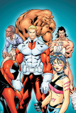 Alpha Flight 1 Group: Sasquatch