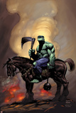 Incredible Hulk 81 Cover: Hulk Riding