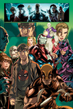 Dark Reign: Young Avengers No4 Group: Wolverine  Iron Patriot and Hawkeye