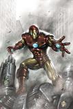 Indomitable Iron Man No1 Cover: Iron Man