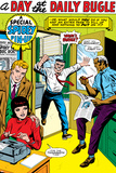 The Amazing Spider-Man No5: J Jonah Jameson Screaming