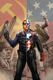 Captain America No44 Cover: Captain America and Winter Soldier
