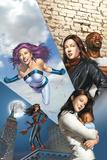 The Pulse No14 Cover: Knightress  Jones  Jessica  Cage  Luke and Jewel