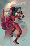 Ultimate Elektra No3 Cover: Daredevil and Elektra