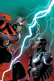 Guardians of the Galaxy No 14 Cover: Star-Lord and Black Bolt