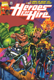 Heroes For Hire No1 Cover: Cage  Luke  Iron Fist  Hulk and Black Knight