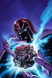 House of M: Masters of Evil No4 Cover: Magneto