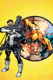 Punisher No1 Cover: Punisher and Sentry