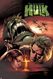 Incredible Hulk No66 Cover: Hulk and Doc Samson
