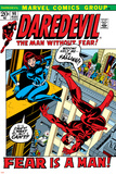 Daredevil No100 Cover: Daredevil and Black Widow