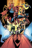 Marvel Team-Up No12 Group: Titannus  She-Hulk  Spider-Man  Dr Strange  Warbird  Nova & Wolverine